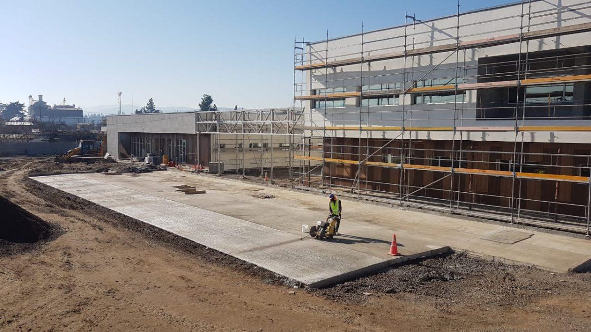 Más de un 60% de avance alcanzan las obras del nuevo Hospital San José de Casablanca