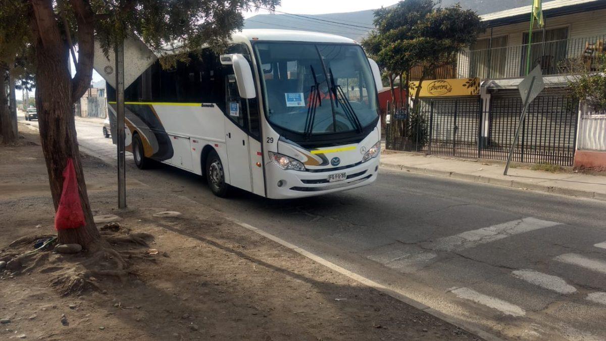 Disponen de buses gratuitos para que personas de zonas rurales concurran a votar el próximo Domingo