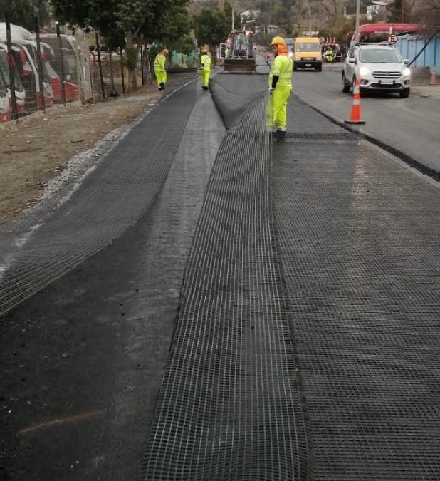 Los Andes: MOP invierte más de $900 millones en mejoramiento de Ruta E- 61 en Coquimbito