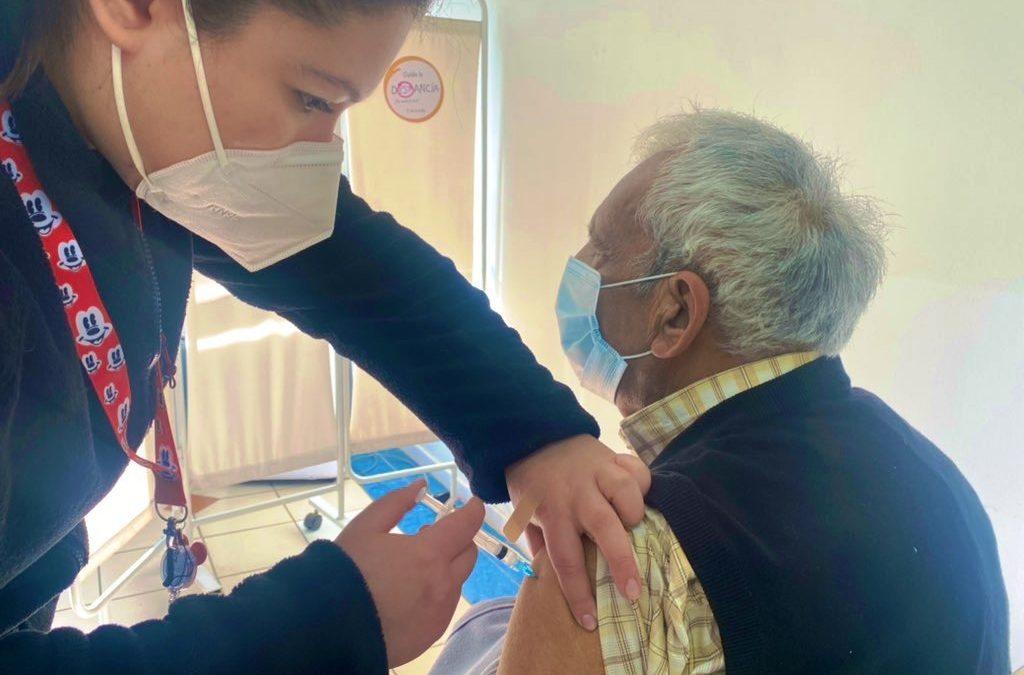 Comenzó la vacunación con dosis de refuerzo contra Covid-19 en el valle de Aconcagua