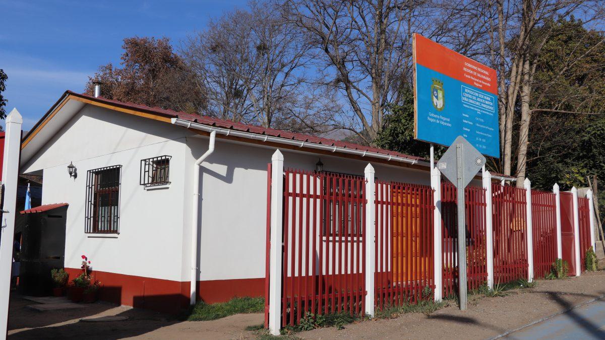 Inaugurada nueva sede social del club del adulto mayor en el sector de viña Errazuriz de Panquehue