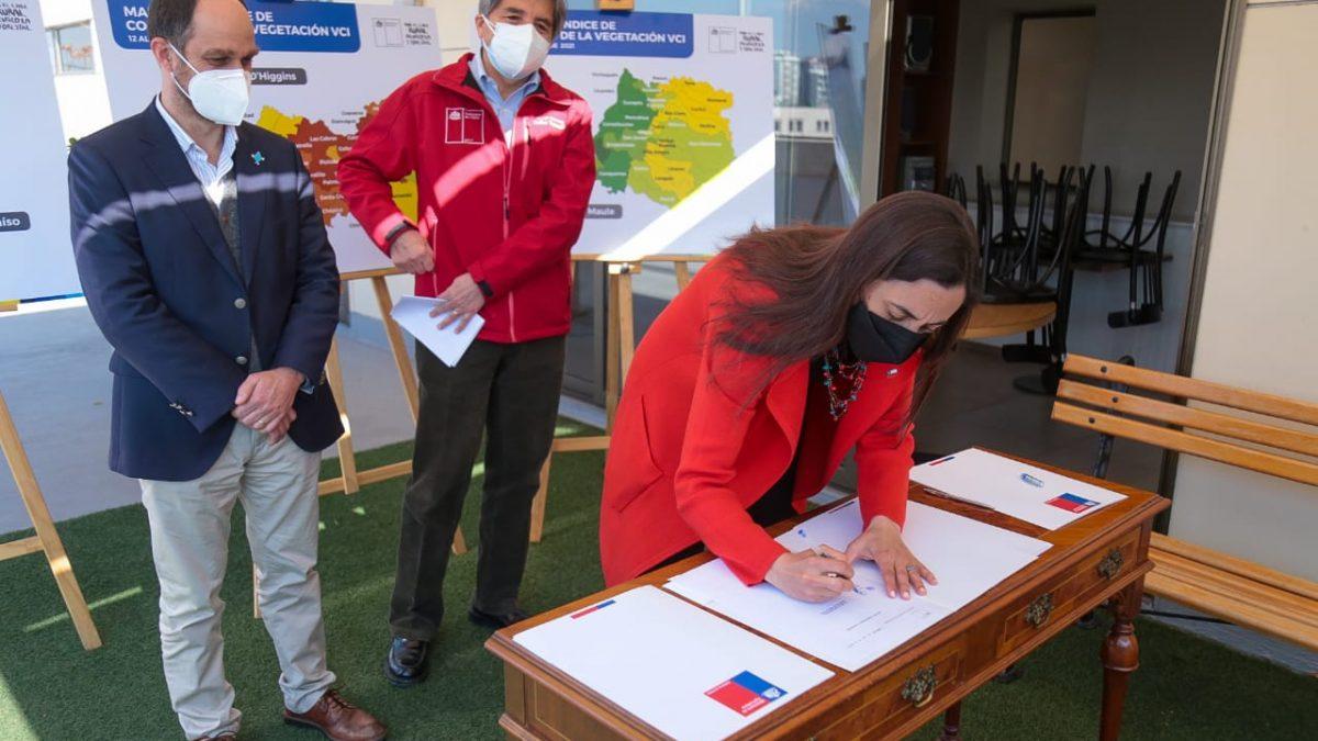 Tras solicitud del Delegado Presidencial Regional de Valparaíso Ministerio de Agricultura decreta Emergencia Agrícola por déficit hídrico para la zona