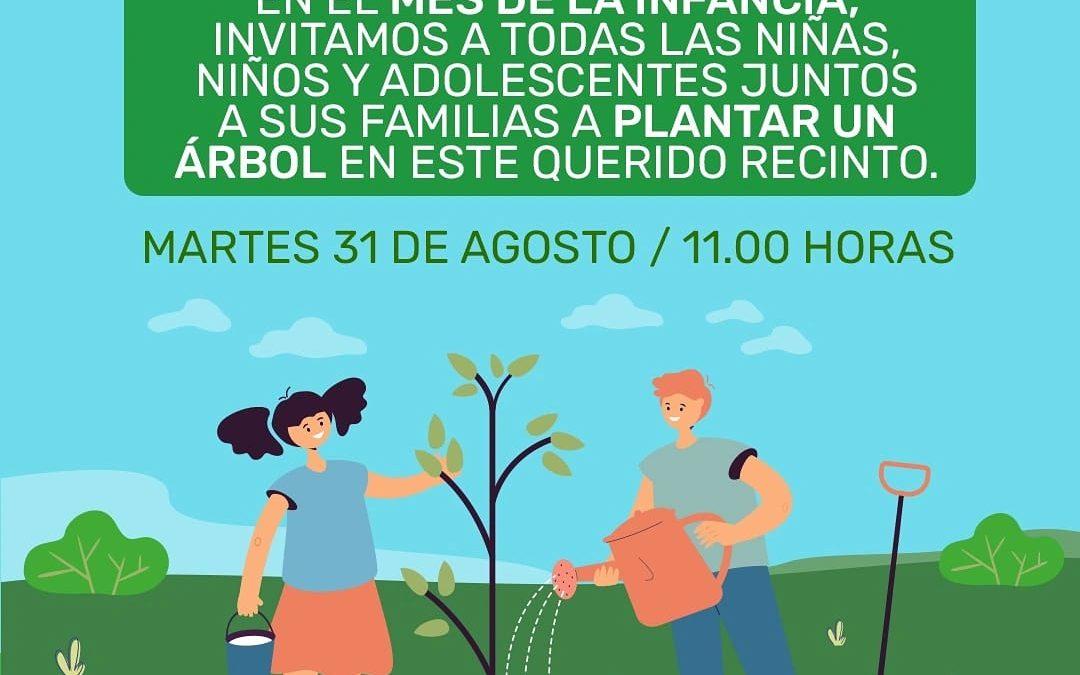 """""""¡Reforestemos el parque Cordillera!"""" es la invitación que el municipio de San Esteban realizó para plantar árboles en el tradicional recinto"""
