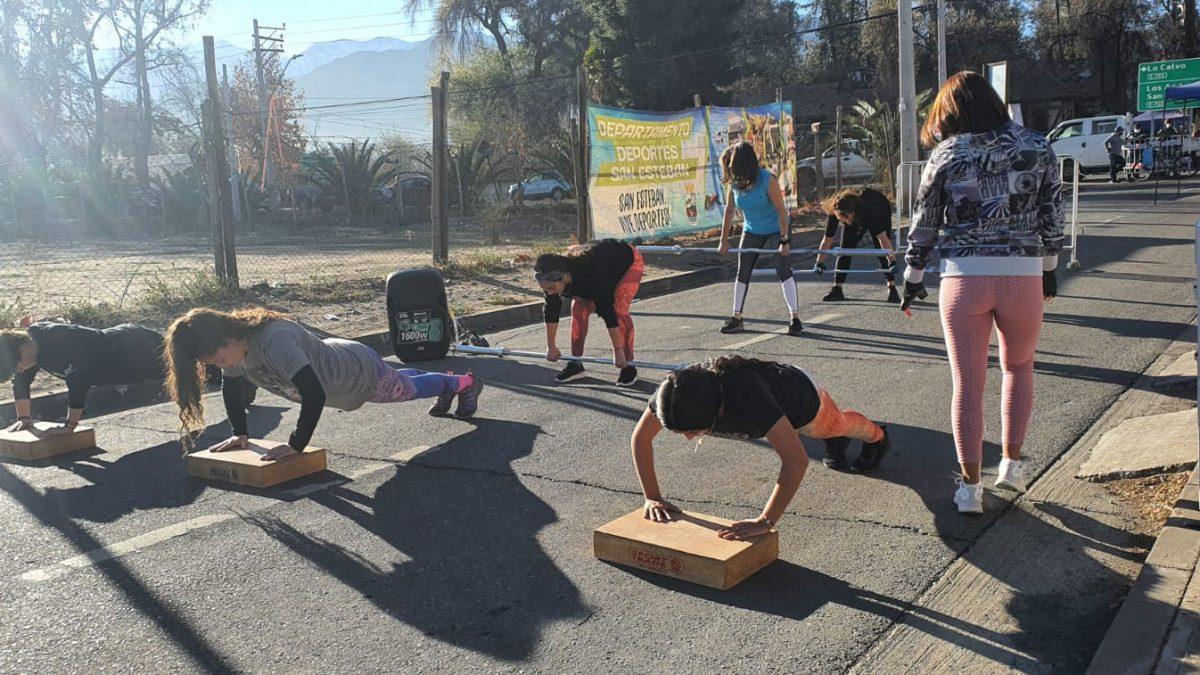Municipio de san Esteban invita a participar en mega franja deportiva