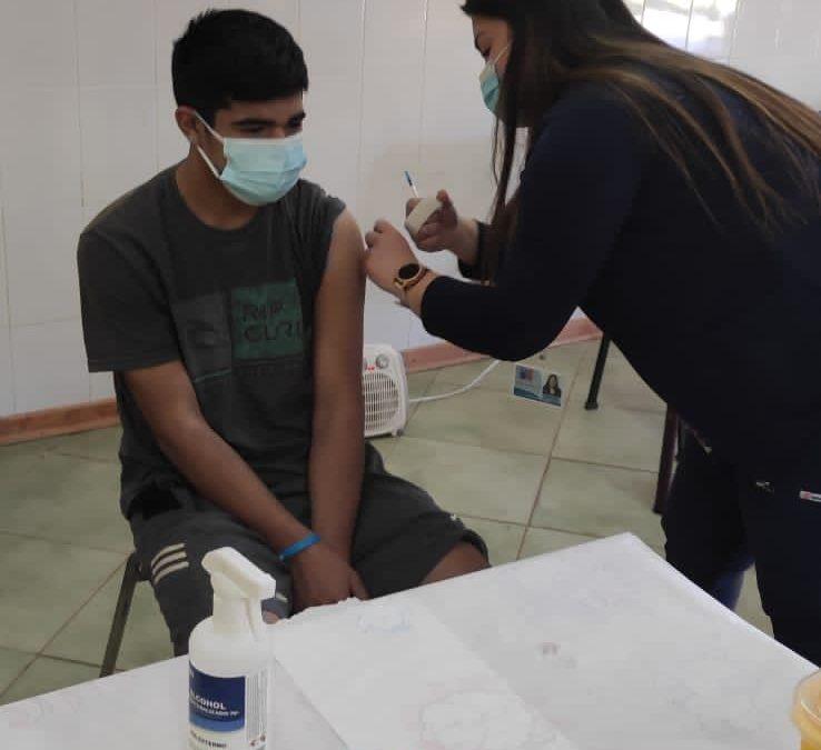Vacunatorio Móvil del Servicio de Salud culminó con más de 1000  dosis entregadas