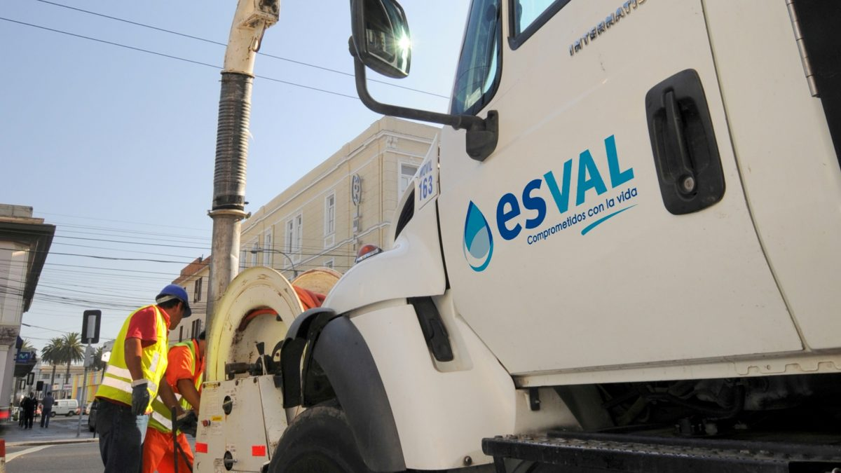 Esval activa su alerta preventiva ante sistema frontal que llegará a la Región de Valparaíso