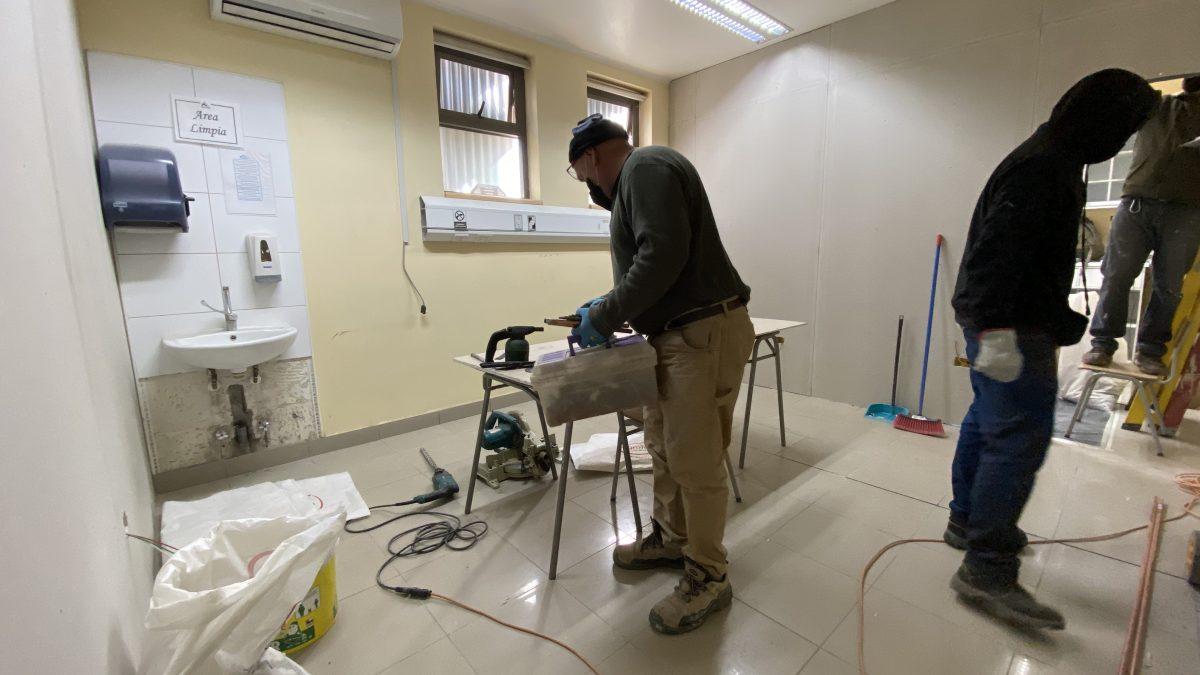En ejecución obras de mejoramiento para Unidad Dental y UAPO de Cesfam Centenario
