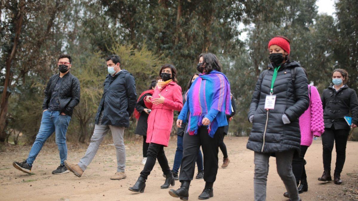 Alcaldesas de Villa Alemana y Quilpué visitaron microbasural de Alto el Yugo con el fin de tomar medidas desde una perspectiva bicomunal