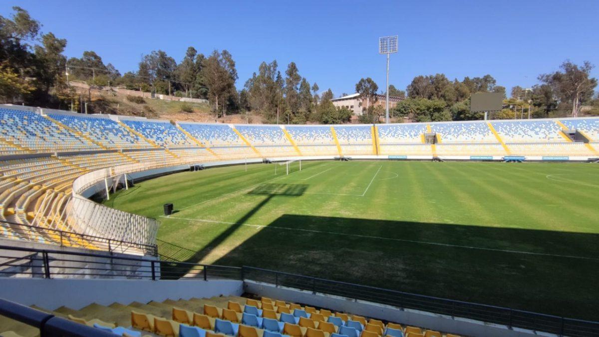 Revisan Estadio Sausalito para corroborar que cumpla protocolo para eventual regreso de hinchas al fútbol