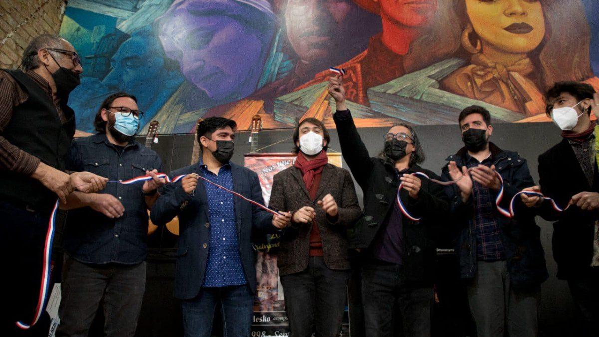 Nuevo mural en calle Condell, inicia nueva etapa de reactivación económica para Valparaíso