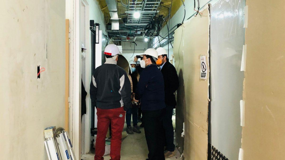 65% de avance presenta nuevo edificio SML de San Antonio