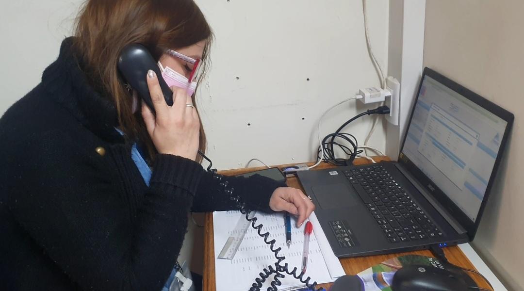 Habilitan central telefónica en Cesfam de San Esteban para dar rápida respuesta y cobertura a necesidades de la comunidad
