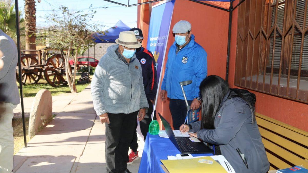 ChileAtiende asistirá dos veces al mes a la comuna de San Esteban para apoyar a los vecinos con distintas prestaciones