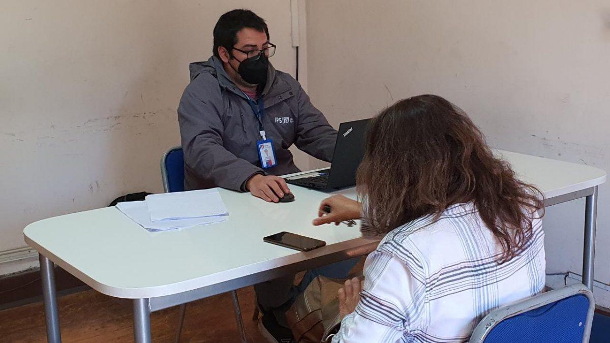 Más de 40 atenciones realizó ChileAtiende en San Esteban