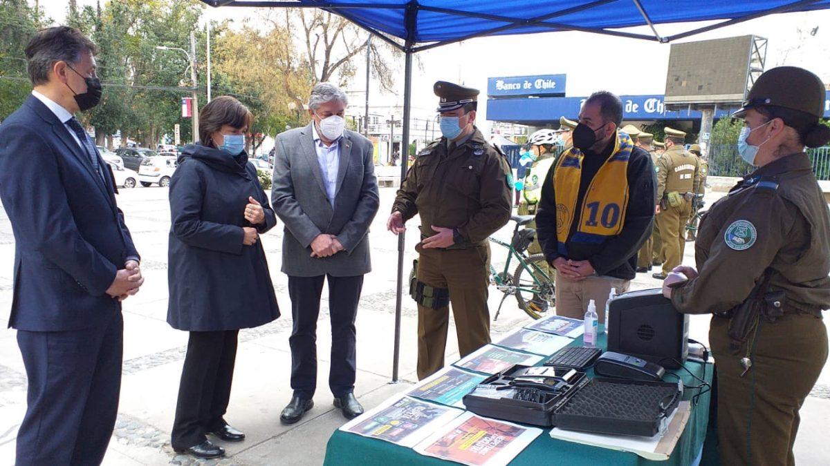 Autoridades dan inicio a Plan Policial Preventivo de Fiestas Patrias en la provincia de San Felipe