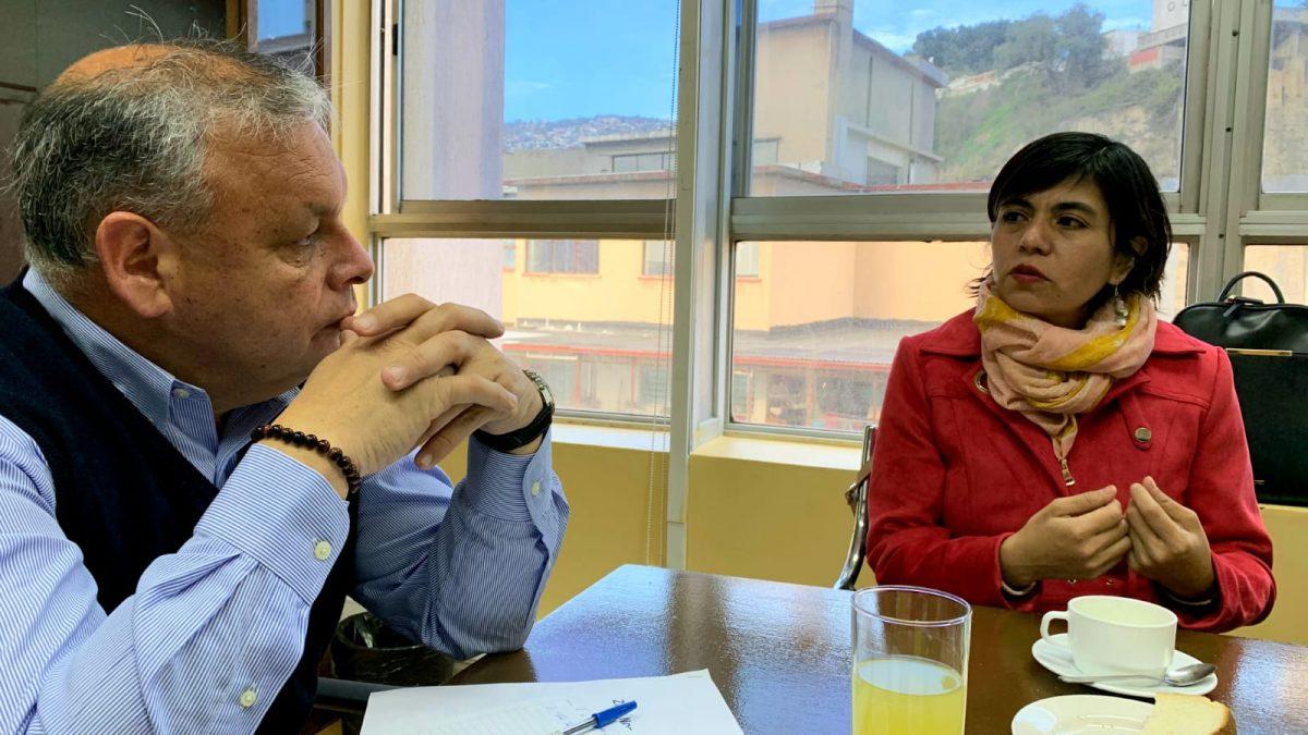 Municipio Abierto de Quilpué y Gobierno Regional sellan compromiso de trabajo